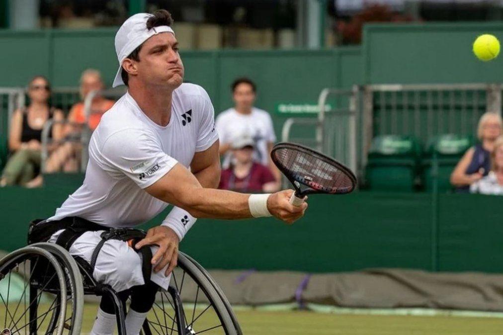 Gustavo Fernández accedió a la final de Wimbledon
