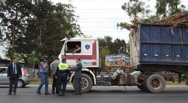 Camiones zafreros, en el foco del tránsito durante el receso