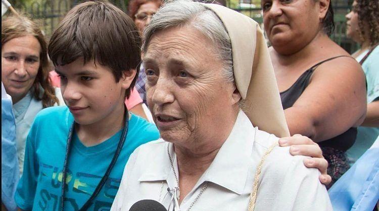 La hermana Martha Pelloni aclaró sus dichos sobre La Cámpora
