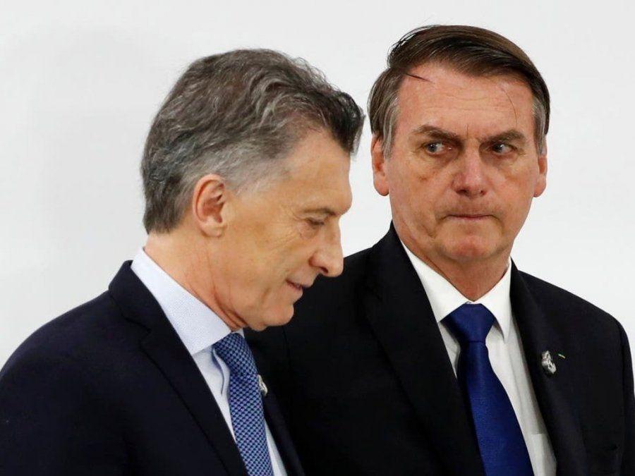 Bolsonaro alentó la reelección de Macri y cuestionó a Fernández
