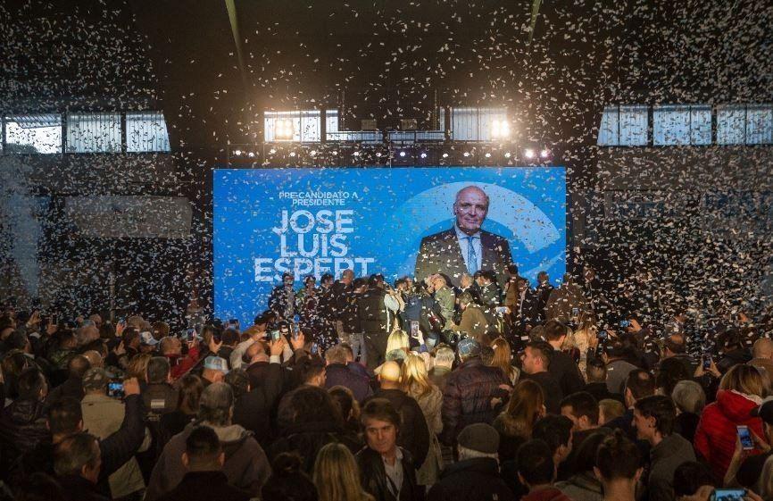 Espert lanzó su campaña: No votemos con miedo ni con bronca