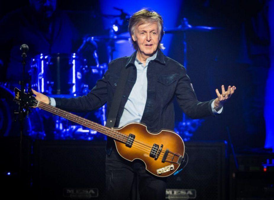 Paul McCartney trabaja en su primer musical: ¡Qué bello es vivir!