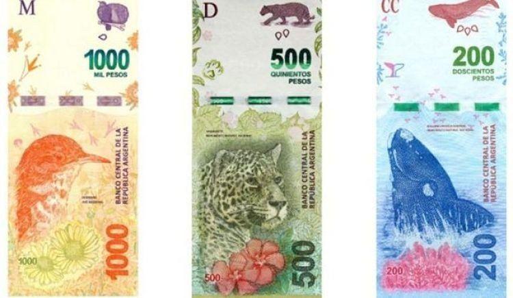 Así puede detectar billetes de $ 200, $ 500 y $ 1.000 falsos