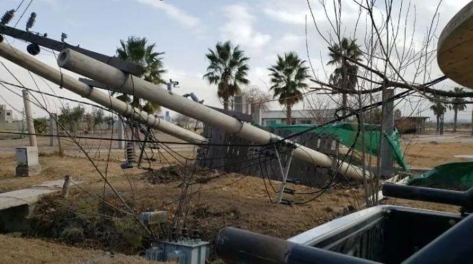 El viento zonda hizo destrozos: incendios, un muerto y árboles caídos