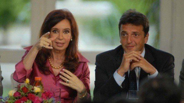 Cristina Kirchner y Sergio Massa, juntos por primera vez en campaña