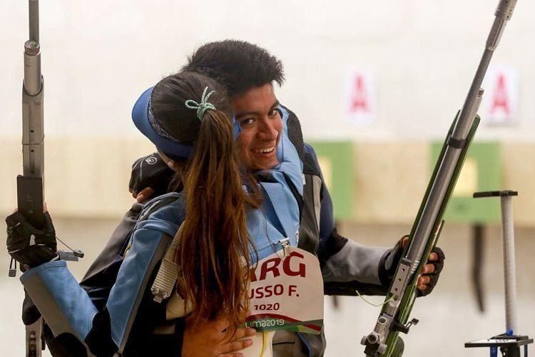 La puntería de Russo y Gutiérrez le dieron un nuevo oro para la Argentina