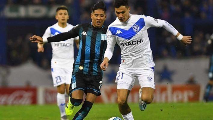 Superliga: Vélez y Racing jugaron un partidazo y quedaron a mano