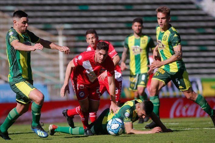 Superliga: Aldosivi y Argentinos igualaron en cero