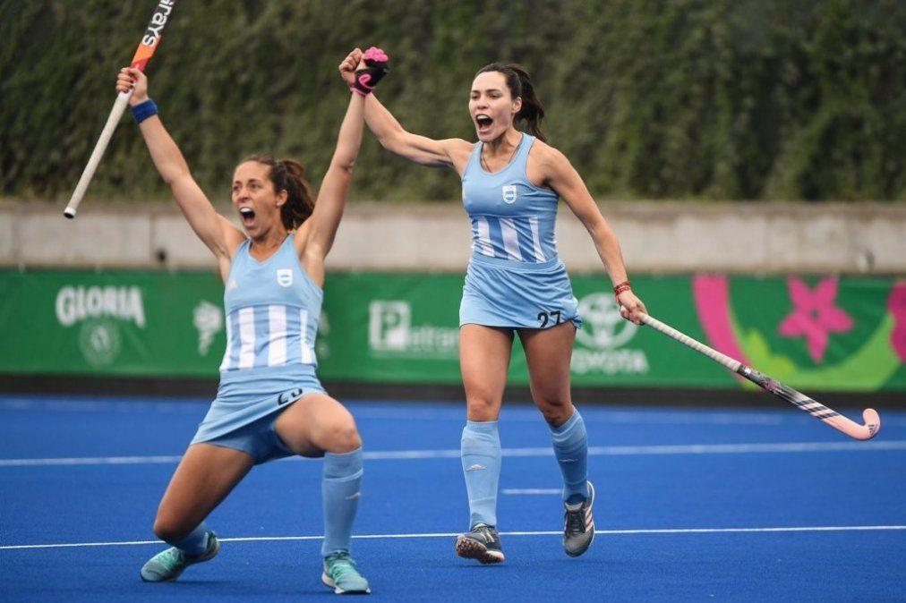 Las Leonas golearon 21-0 a Pérú y están en semifinales