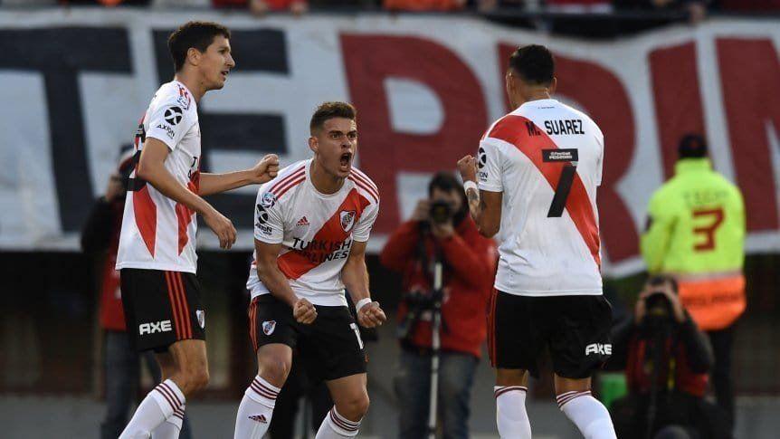 Superliga: River demostró poderío ofensivo ante Lanús y ganó 3 a 0
