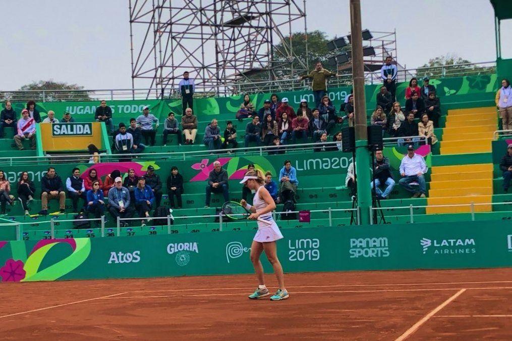 Podoroska, medalla de oro en tenis: Se ha demostrado a ella misma que tiene nivel para jugar
