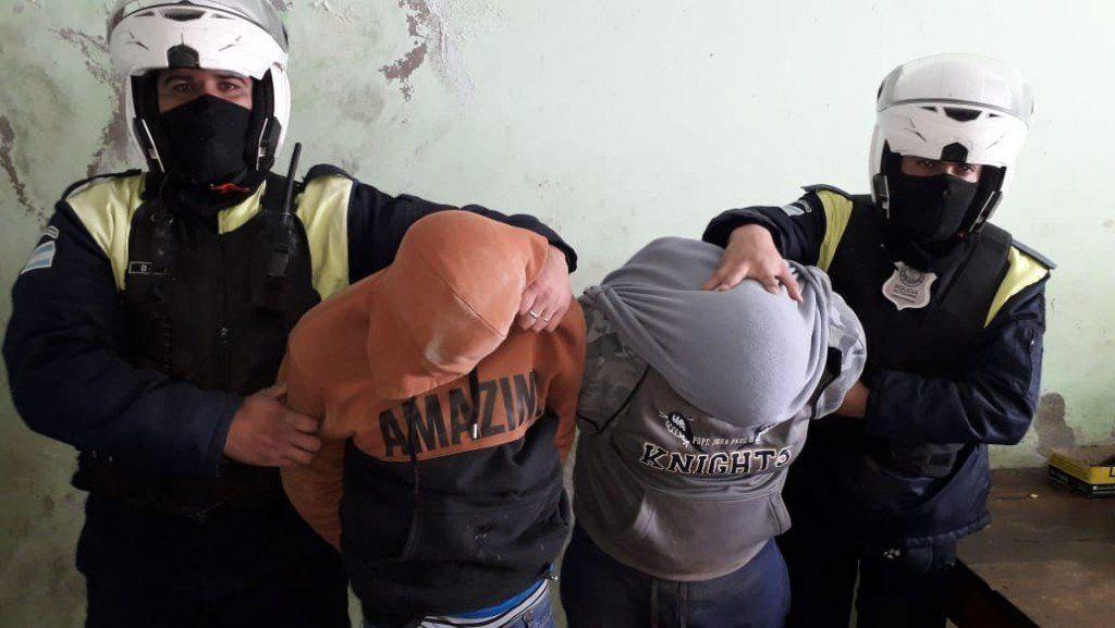 Cuatro hombres fueron detenidos por diferentes delitos