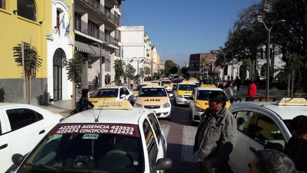 Concepción: Taxistas piden que autoricen el aumento de la tarifa