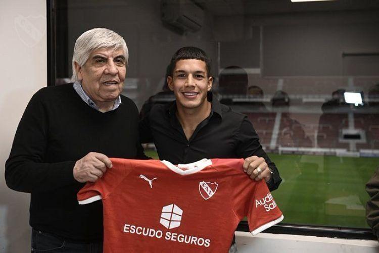 Lucas Romero se transformó en nuevo jugador de Independiente