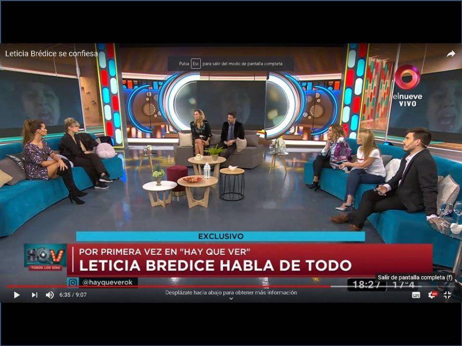 Leticia Brédice, sobre las escenas de sexo: Hay actores que se erotizan y les tenés que decir 'basta'