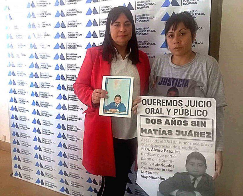 Se elevó a juicio el caso de Matías Juárez