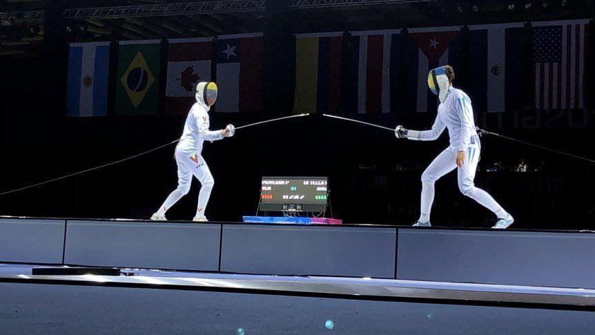 La esgrima sumó otras dos medallas para la delegación Argentina