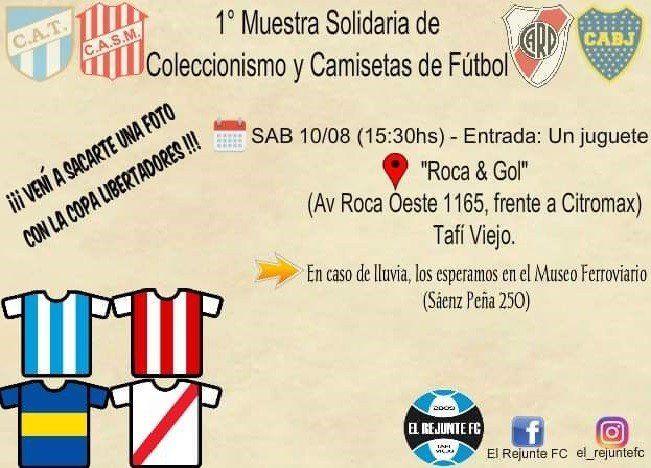 Primera Muestra Solidaria de camisetas de Fútbol