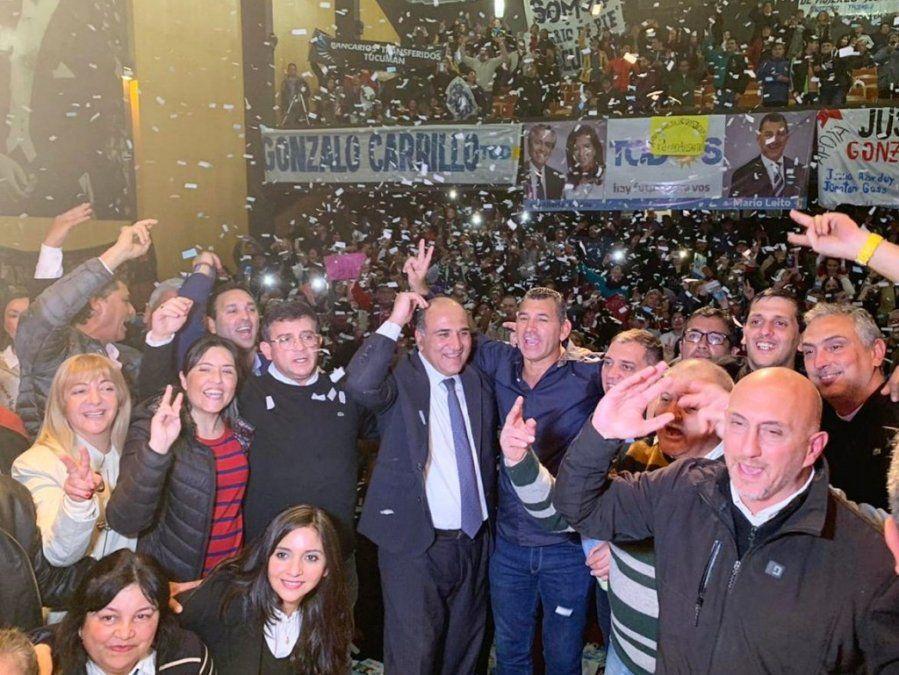 Leito: Confiamos plenamente que el triunfo va a ser importante en Tucumán