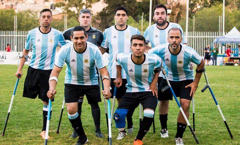 La selección de futbol amputado jugará un amistoso en Tucumán frente a Los Leones