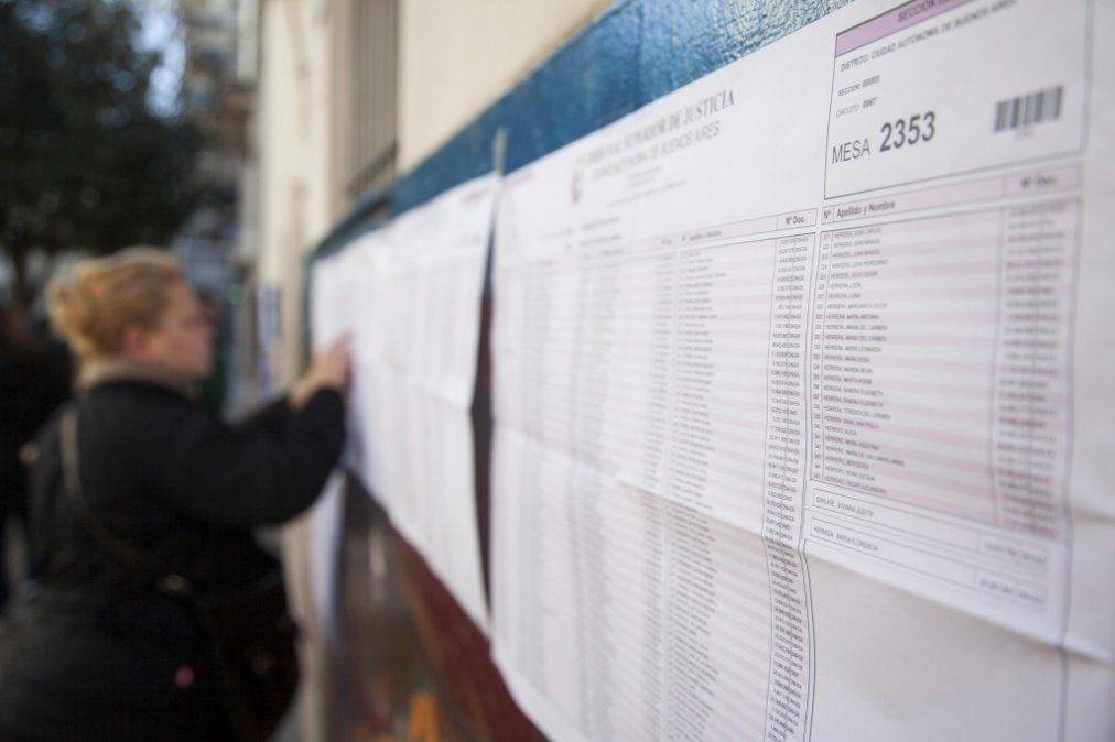 PASO 2019: comenzó la votación en todo el país
