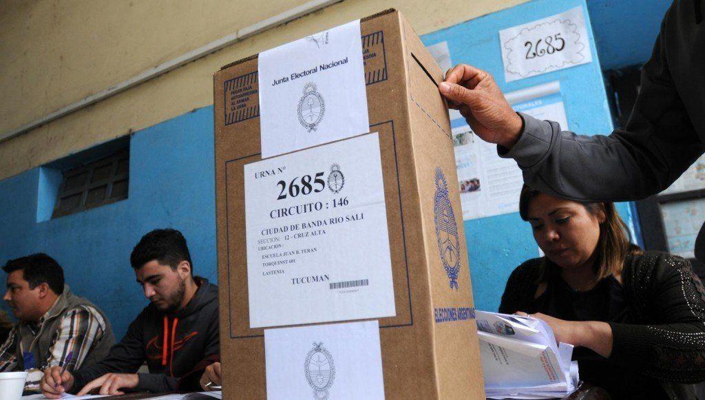 PASO: En Tucumán votó el 77% del padrón habilitado