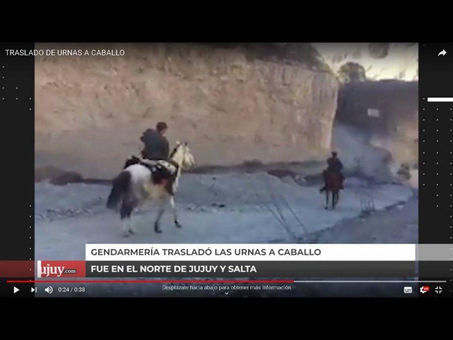 Gendarmes trasladaron las urnas por la Puna: demoraron 20 horas a caballo
