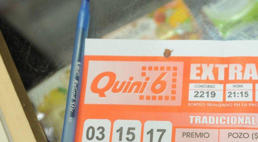 Mendocino apostó al Quini 6 y se llevará más de $70 millones