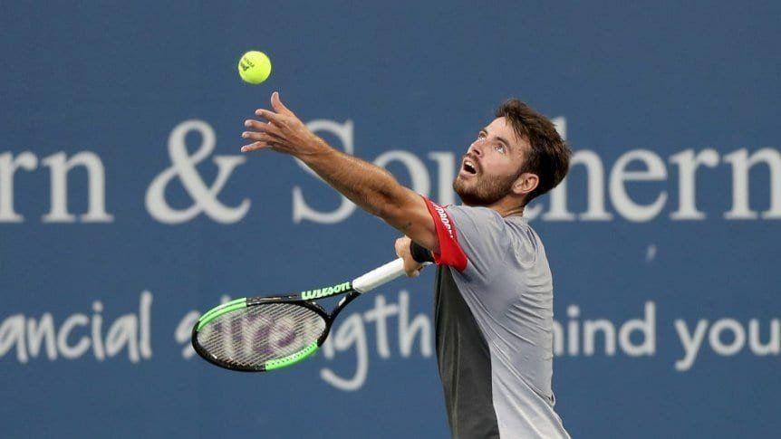 Juan Ignacio Lóndero perdió ante Roger Federer y quedó eliminado del Master 1000 de Cincinnati