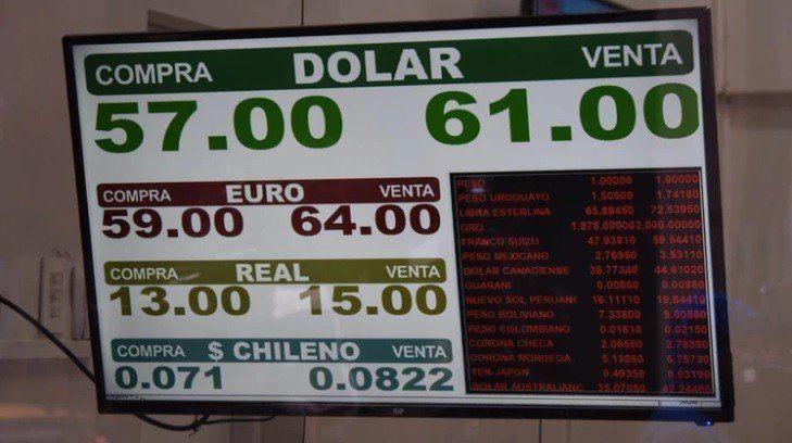 El dólar abrió $3 arriba en Banco Nación y subió el Riesgo País