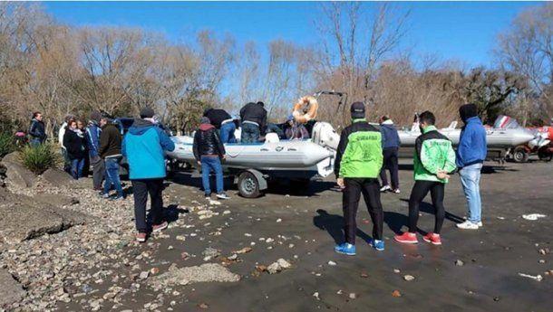 Prefectura encontró el cuerpo del segundo pescador desaparecido