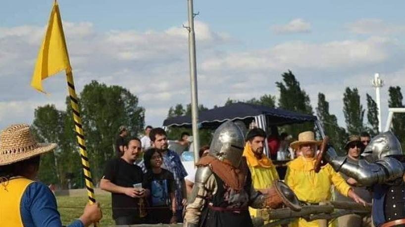Vuelve este sábado el combate medieval a San Miguel de Tucumán