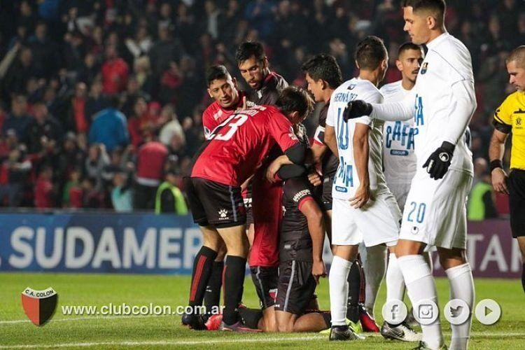 Copa Sudamericana: Colón goleó 4 a 0 a Zulia y avanzó a semifinales