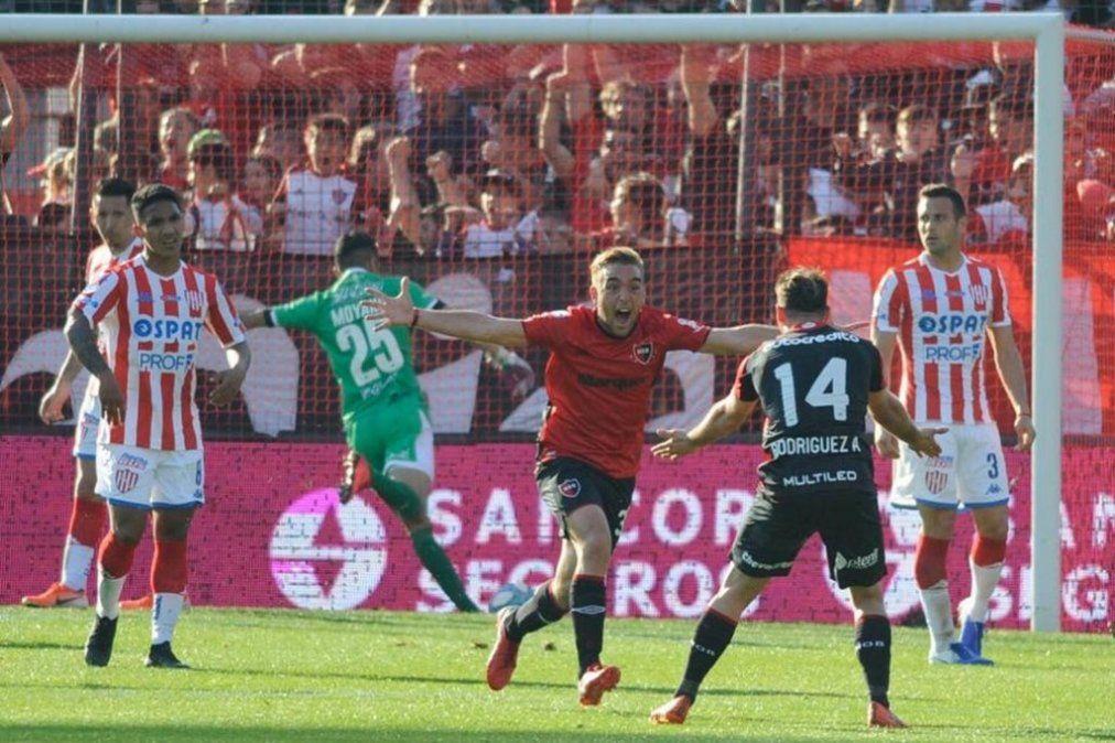 Newells le ganó a Unión 2-0 y empieza a subir en la Superliga