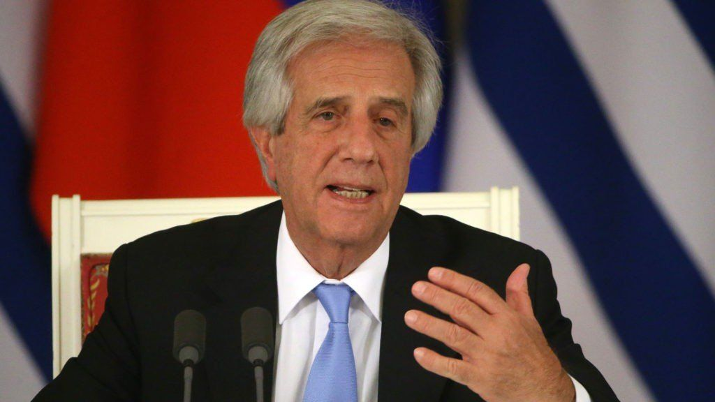 Uruguay: el presidente Tabaré Vázquez revela tener un nódulo pulmonar con proceso maligno