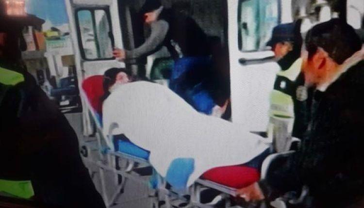 Una intendenta quedó internada tras la explosión de una bomba de estruendo