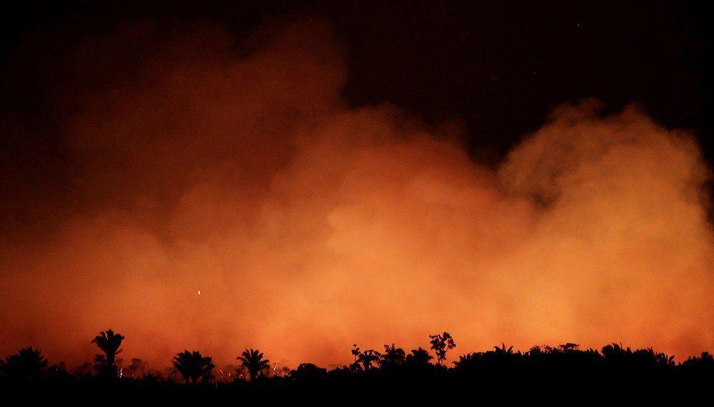 Argentina enviará 200 bomberos a la Amazonia
