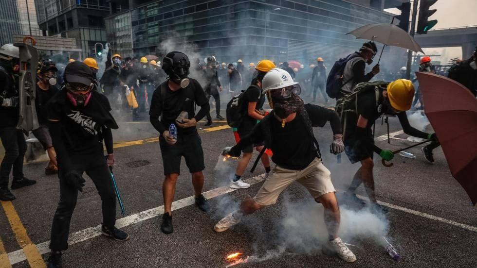Hong Kong: nueva jornada de protestas e incidentes