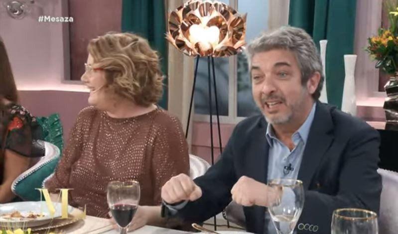 Darín contó qué Mirtha tiene una estufa debajo de la mesa