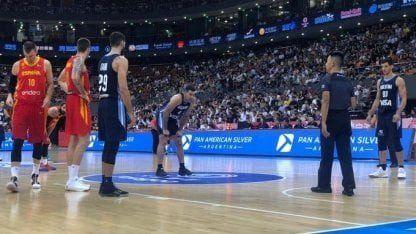 Argentina no pudo con España en la previa del Mundial