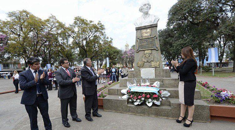 Alberdi conmemora al célebre tucumano con una extensa jornada