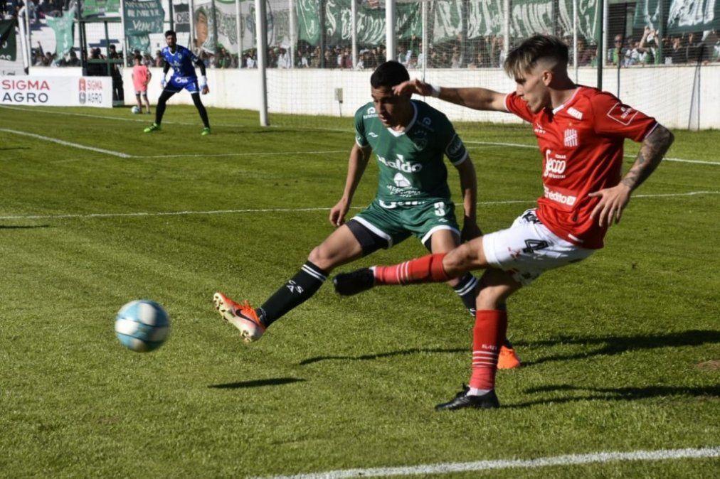 En una pálida actuación, San Martín perdió 3-1 con Sarmiento en Junín