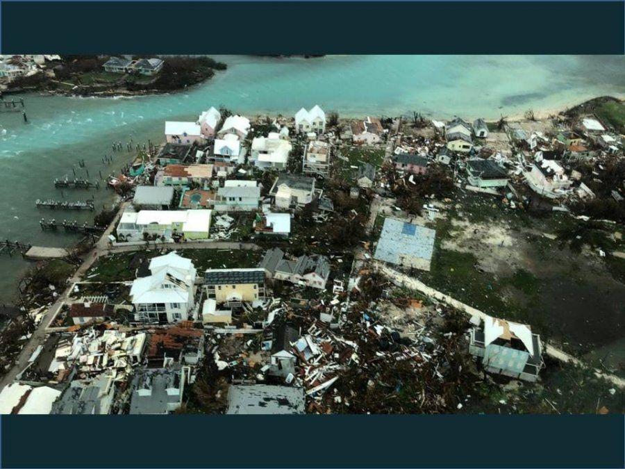 Bahamas afronta un escenario de guerra tras el paso del huracán Dorian