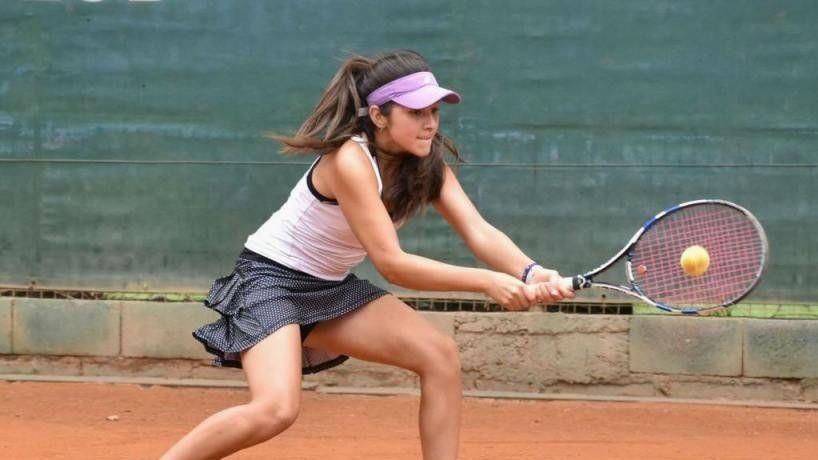 Emilse Ruiz ganó un sudamericano de Tenis y espera seguir escalando