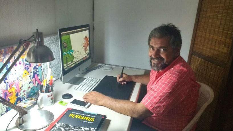Emociones en viñetas: los historietistas festejan su día