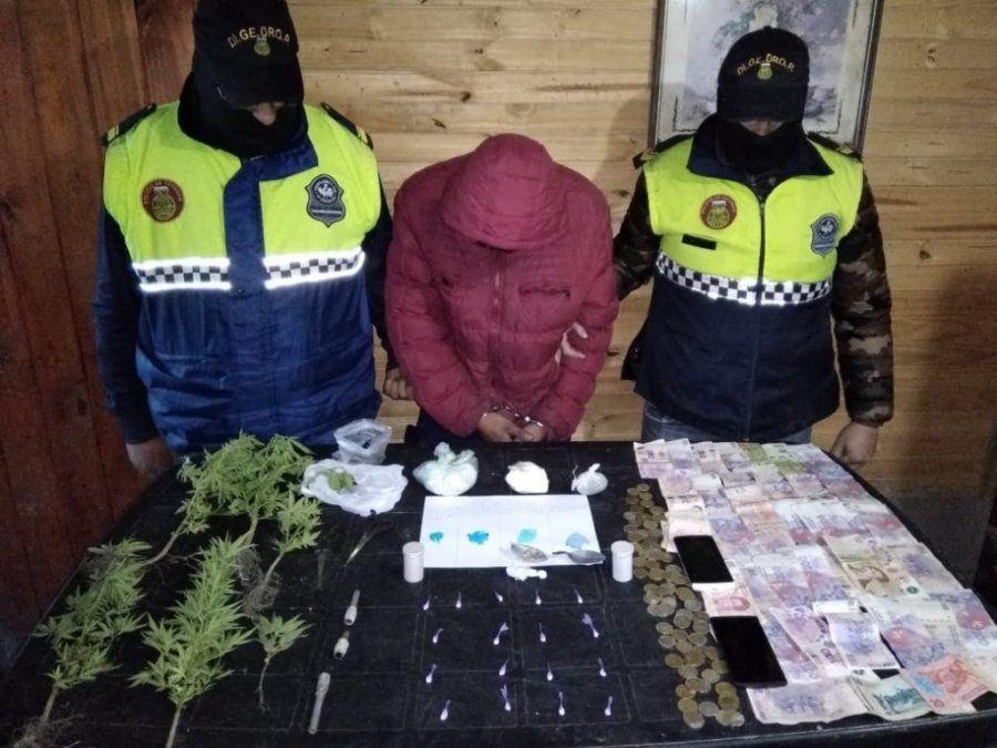 Fue detenido por vender estupefacientes en Aguilares