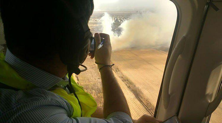 Defensa Civil intensifica los controles por quema de cañaverales
