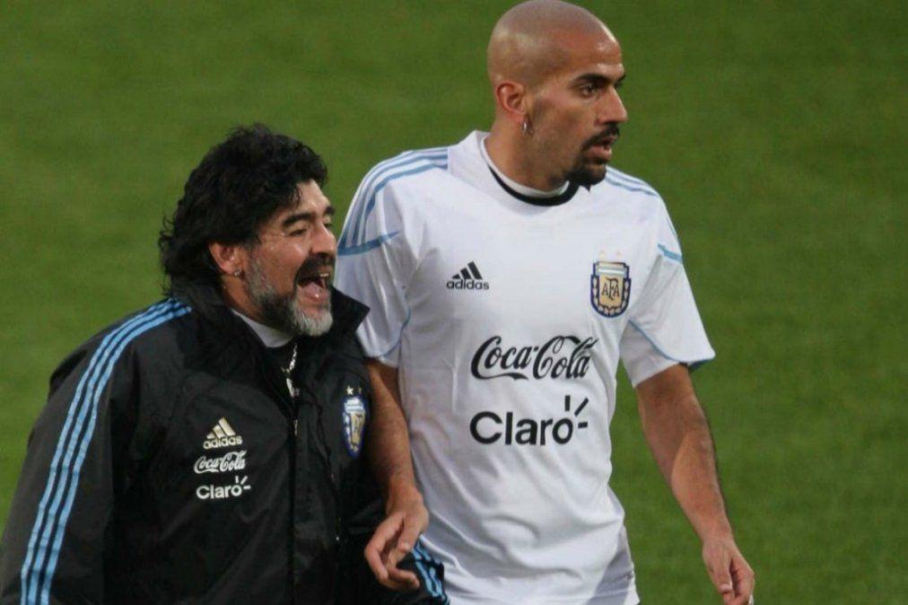 Me alegra que Maradona tenga la chance de dirigir en el fútbol argentino