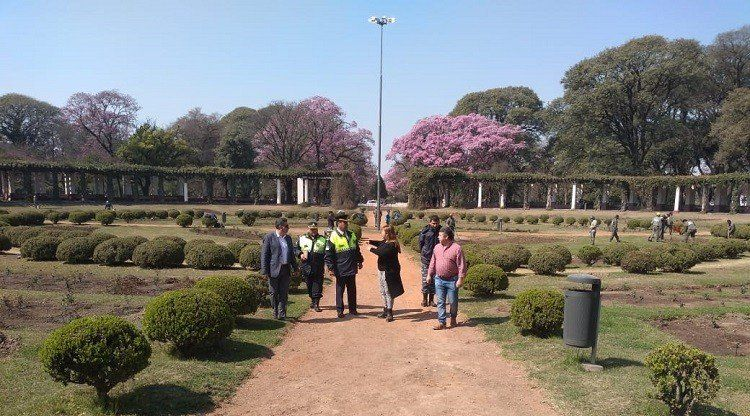Parque 9 de Julio: reforzarán la seguridad en la zona de El Rosedal