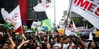 Protestas en Brasil contra las políticas ambientales y educativas de Bolsonaro